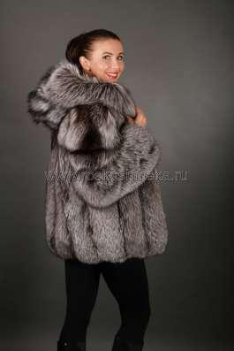 Шуба из чернобурки арт.: 5509 – лучшая цена! в Москве Фото 4