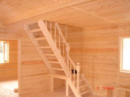 Двухэтажный деревянный дом в Туапсе Фото 4