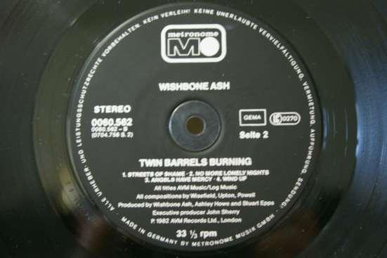 WISHBONE ASH-1978/1980 Made In W. Germany в Москве Фото 5