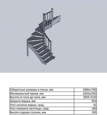 Деревянные лестницы от 20 тыс. руб в Москве Фото 4