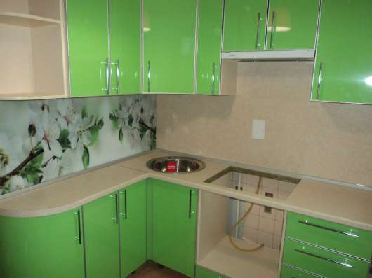 Кухни из пластика в Нижнем Новгороде Фото 1