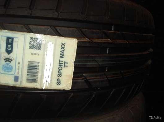 Новые японские Dunlop 205/55 R16 макс тт в Москве Фото 1