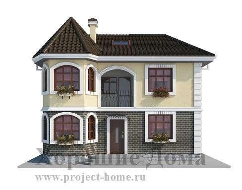 Строительство дома из газобетона 9.5x10 142 кв. м в Москве Фото 3