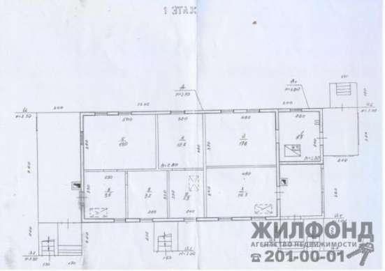 дом, Новосибирск, Алтайский 1-й пер, 28 кв.м. Фото 2