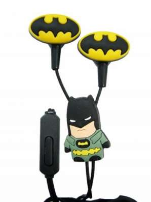 Крутые детские наушники Бэтмен