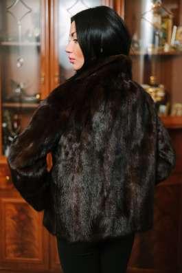 Норковая куртка автомобилка, scanblack, 42-46 в г. Симферополь Фото 3