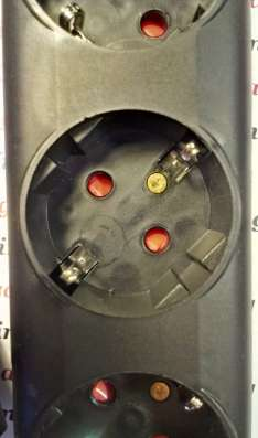 Кабель - тройник UPS 220V (блок бесперебойного питания)