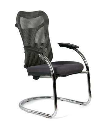 Кресло для посетителя СН-426 серое