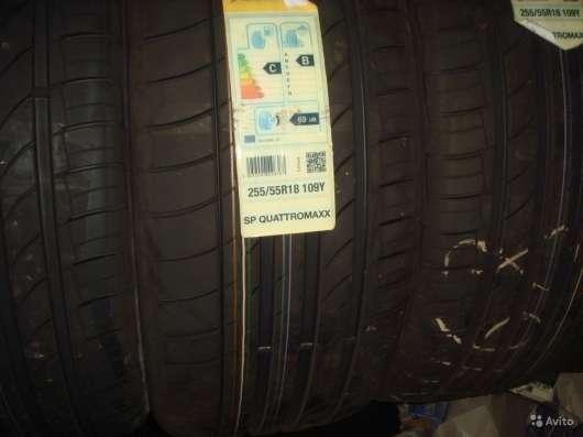 Новые немецкие 275 40 R20 Dunlop кватромаксс