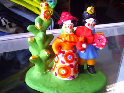 Дымковская игрушка в Москве Фото 2