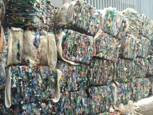 Продаём прессованные ПЭТ бутылки для переработки
