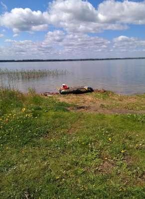 Продаю земельный участок, с выходом на озеро