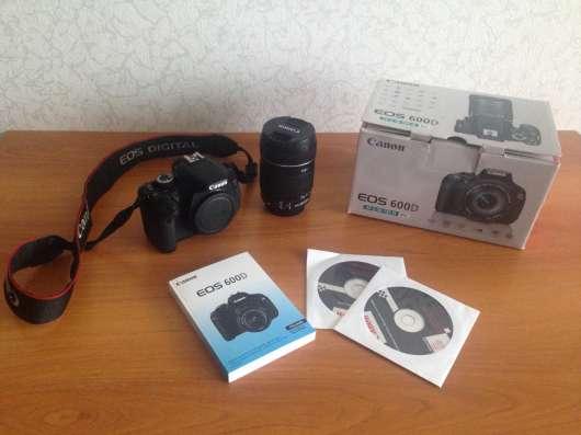 Зеркальный фотоаппарат Canon 600D в Нижнем Новгороде Фото 1