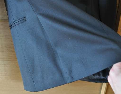 Мужской костюм, чёрный, Zara, размер 48