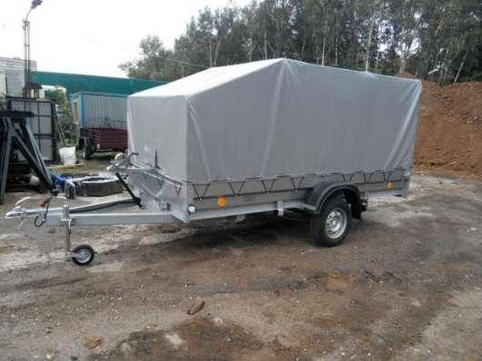 Автомобильный прицеп Трейлер 3,5х1,5м для перевозки снегохода, квадроцикла