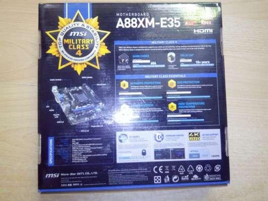 Материнская плата msi A88XM-E35
