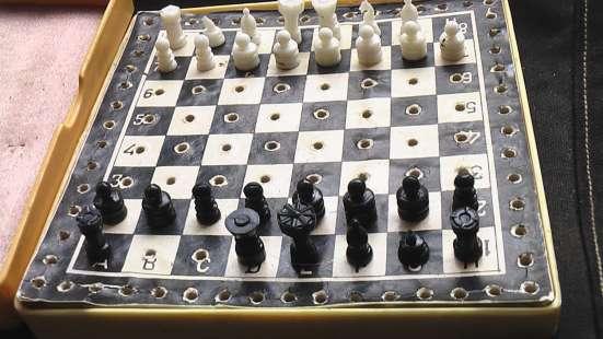 Шахматы дорожные карманные. СССР в Саратове Фото 2
