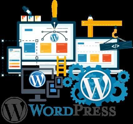 Веб сайт, визитка, блог на WordPress-создание, поддержка