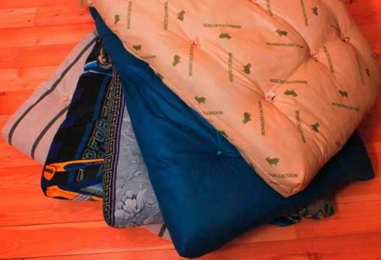 Матрац, одеяло, постельное белье