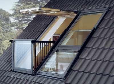 Окно - балкон VELUX (Велюкс), GDL Cabrio