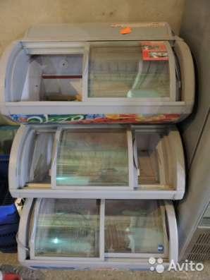 торговое оборудование Трехкамерный морозильный