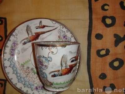 60г руч. роспись чайная пара Фазаны в Санкт-Петербурге Фото 2