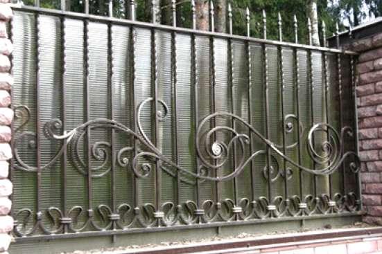 Ворота, заборы и калитки на заказ в Екатеринбурге Фото 2