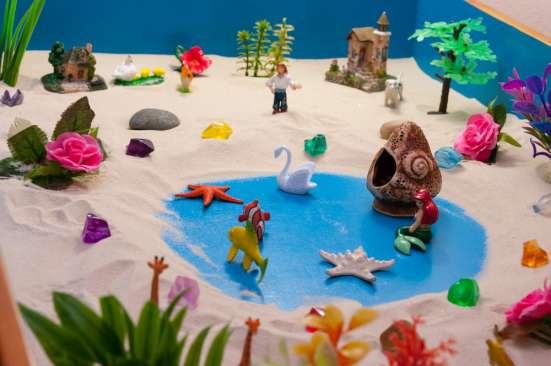 Песочная терапия для детей от 3 в г. Вильнюс Фото 1