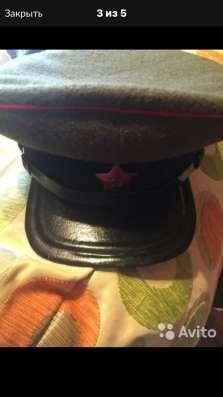 Фуражка АБТВ и артиллерии Военная форма