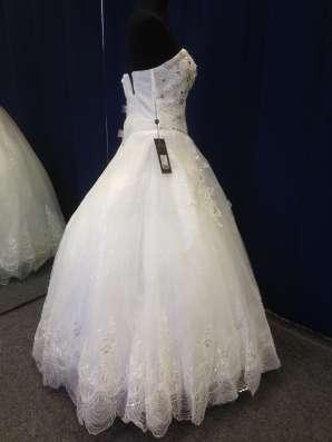 Супер красивое и яркое свадебное платье в Москве Фото 2