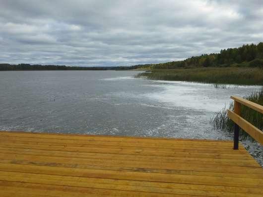 Чудесный участок у озера Вишневское