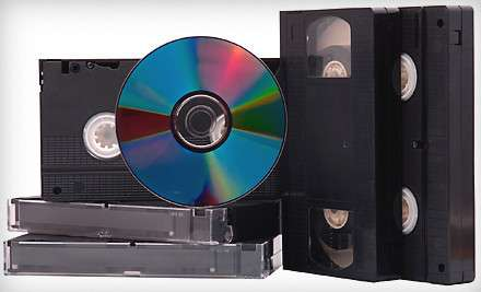 Перезапись кассет на CD и DVD