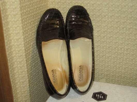 """Кожаные туфли """" indiana"""" (размер-38)"""