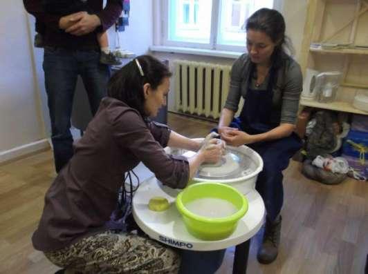 Обучение работе на гончарном круге