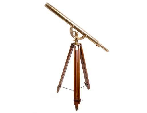 Старинный телескоп., Латунный телескоп Галилео Галилея в г. Дедовск Фото 1