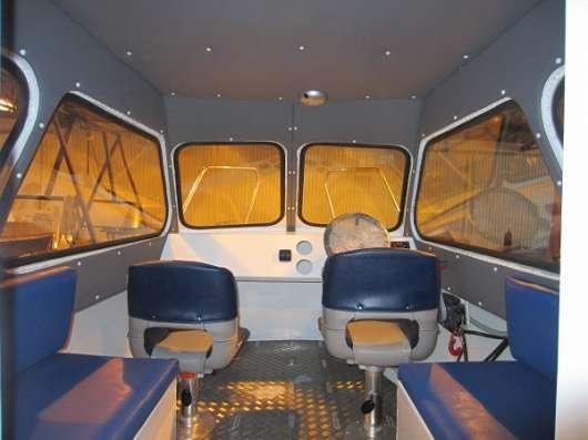 Алюминиевый катер Баренц 600С