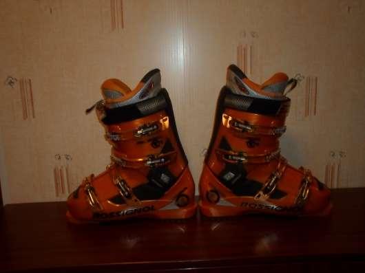 Продам горнолыжные ботинки rossignol radical r14 solar