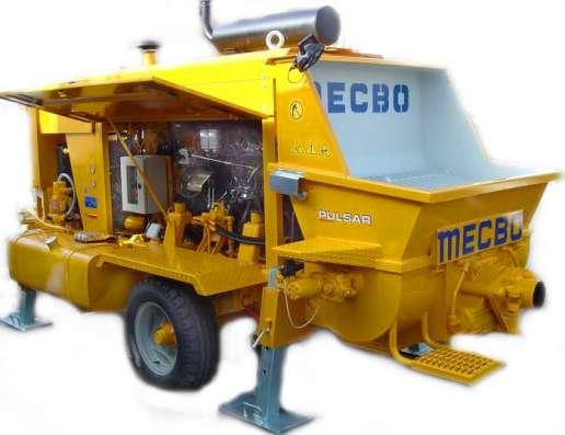 Аренда бетононасоса Mecbo 4.65