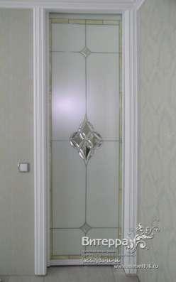 Двери с фацетными элементами