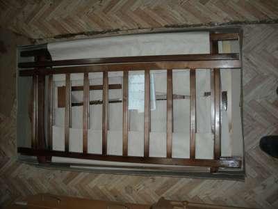 Кровать Ника №3 ;НОВАЯ; МАЯТНИК ПОДВЕСЫ НА ВТУЛКАХ в г. Самара Фото 4