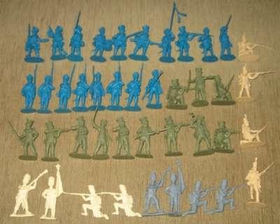 Солдатики. Наполеоновские войны.