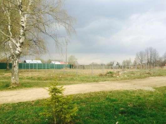 Продается участок 6.7 сотки в пос. Красный балтиец, Можайский р-он, 109 км от МКАД по Минскому шоссе.