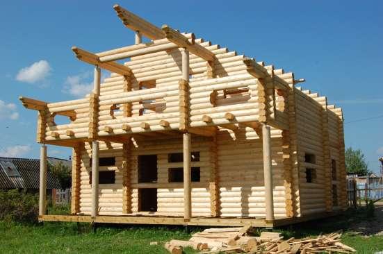 Производство срубов и домов из оцилиндрованного бревна в г. Самара Фото 2