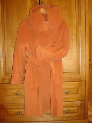 Продается пальто женское кашемировое, размер 48