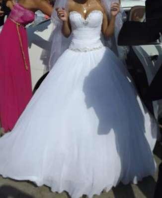 шикарное свадебное платье в Ростове-на-Дону Фото 2