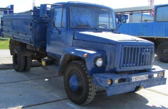 Автомашина-самосвал ГАЗ-САЗ 3508 бензин
