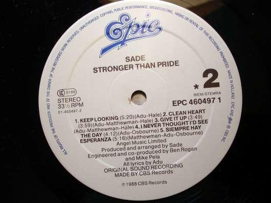 Sade - Stronger Than Pride в Санкт-Петербурге Фото 1