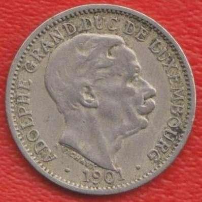 Люксембург 10 сантимов 1901 г в Орле Фото 1