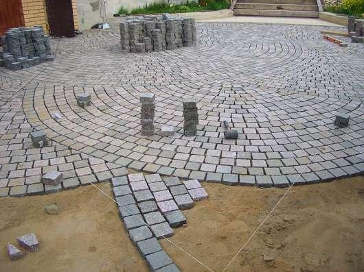 Укладка брусчатки и тротуарной плитки в Ташкенте