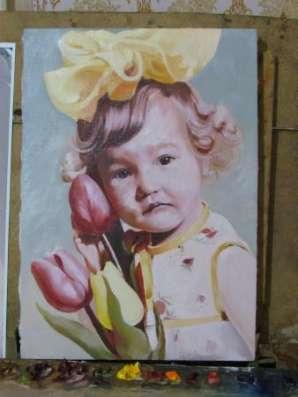 Выполнение копии картин на заказ.Портрет по фото в г. Самара Фото 3